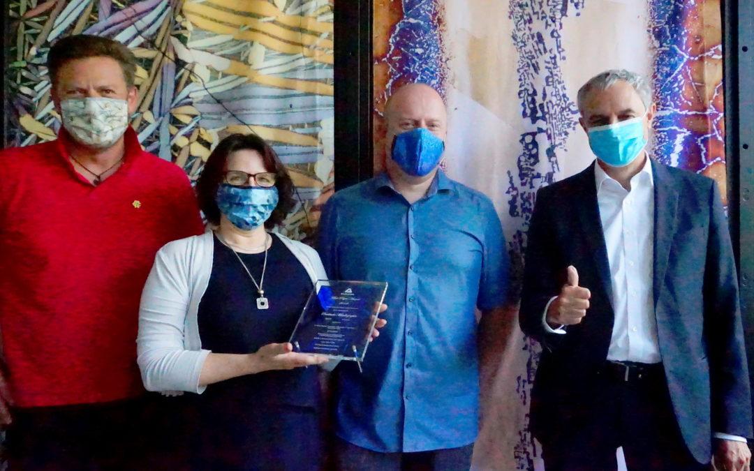 Matworks gratuliert IMFAA zum 1. Platz des Best Paper Award 2019